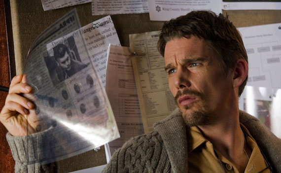 Movie still: Ethan Hawke in Sinister