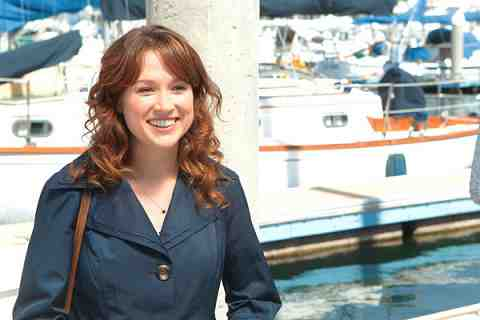 THE OFFICE The Boat Episode 907 -- Pictured: Ellie Kemper as Erin Hannon