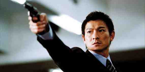 Movie still: Infernal Affairs