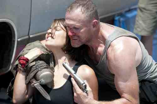 Walking Dead Merle Maggie