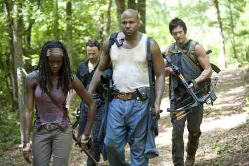 Walking Dead Michonne group