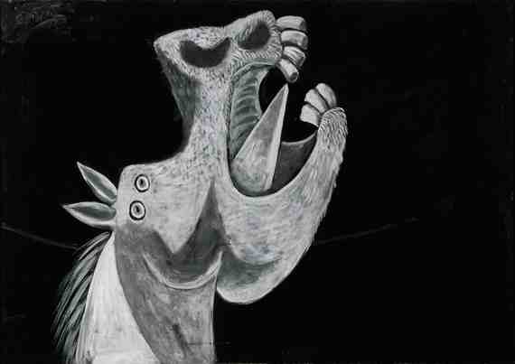 Picasso: Head of a Horse