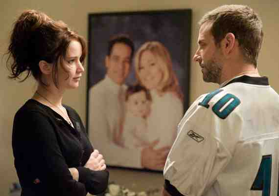Movie still: Silver Linings Playbook