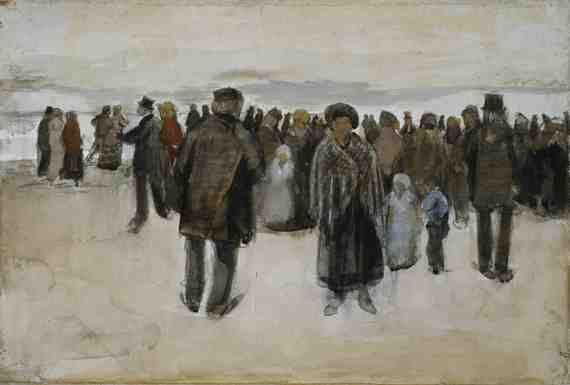 Van Gogh: The Beach at Scheveningen