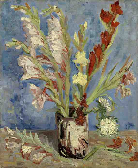 Van Gogh: Vase with Gladioli and China Asters
