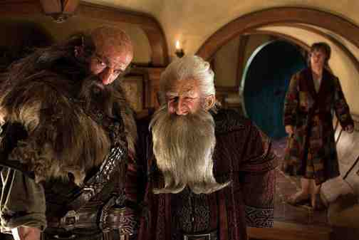 THE HOBBIT: AN UNEXPECTED JOURNEY, l-r: Graham McTavish, Ken Stott, Martin Freeman