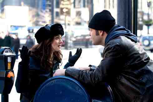 Vince Vaughn and Rachel Weisz in Fred Claus