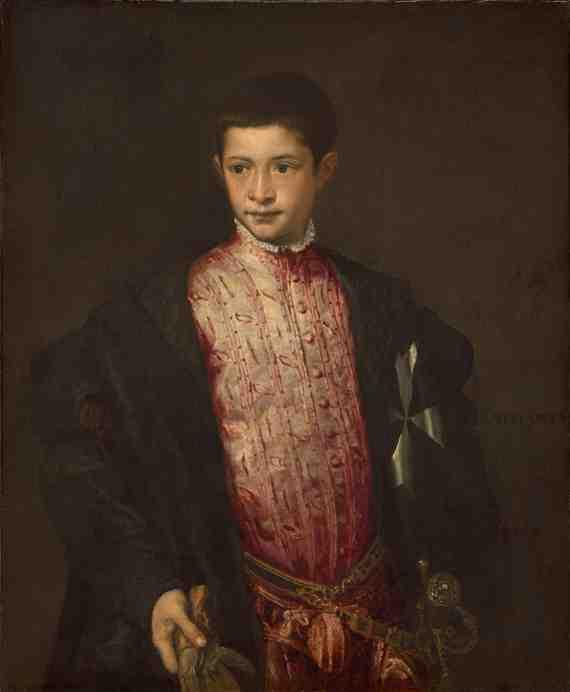 Titian: Ranuccio Farnese