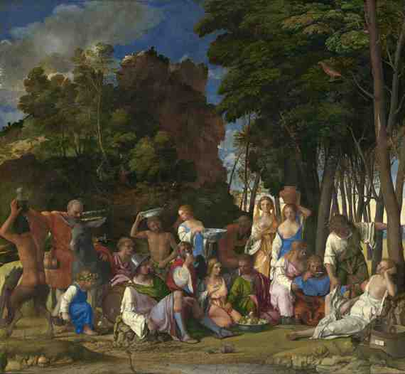 Bellini and Titian: The Feast of the Gods