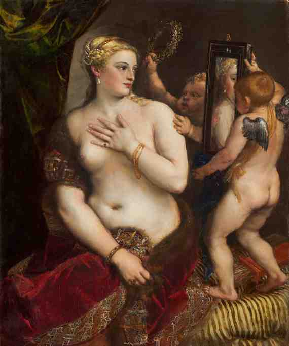 Titian: Venus with a Mirror