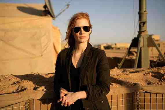 Movie still: Zero Dark Thirty, Jessica Chastain