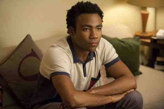 Donald Glover as Sandy on 'Girls'