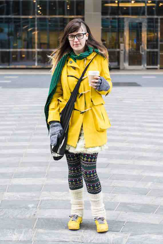 CLR Street Fashion: JoJo, Canary Wharf