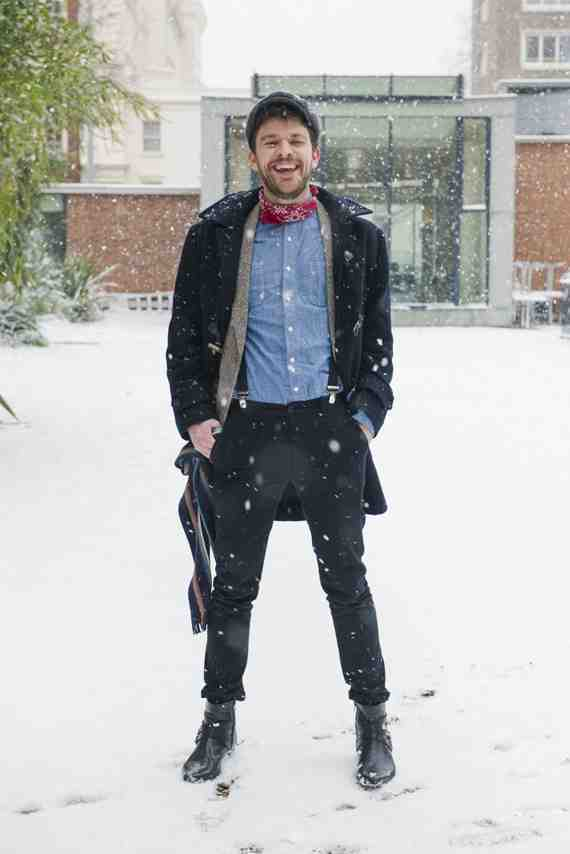 CLR Street Fashion: Simon in London