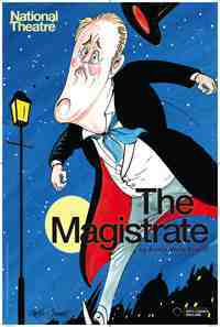 Theater poster: The Magistrate