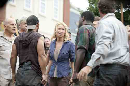Walking Dead Season 3 Episode 9 Andrea in Woodbury