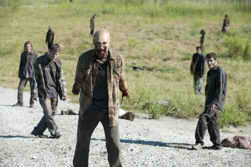 Walking Dead Season 3 walkers