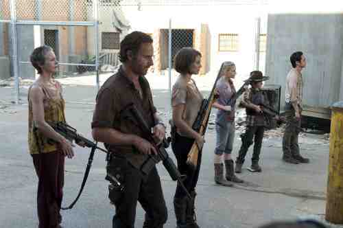 Walking Dead Season 3 prison crew