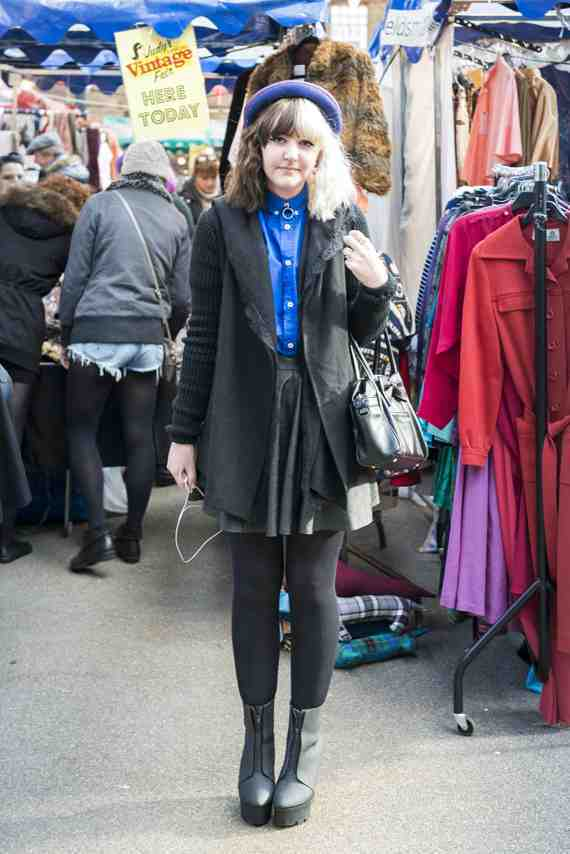 CLR Street Fashion: Alice in London