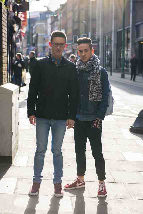 CLR Street Fashion: Lewis and Joe