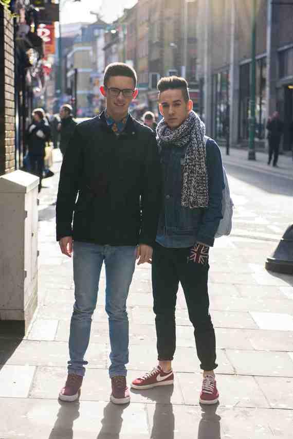 CLR Street Fashion: Lewis and Joe