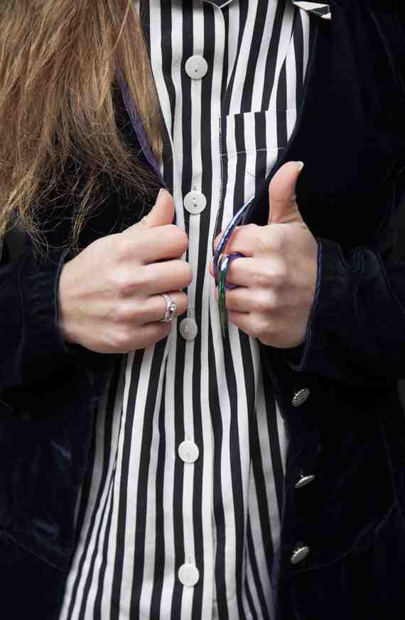 CLR Street Fashion: The Reformation shirt