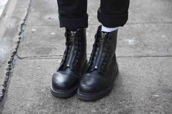 CLR Street Fashion: Doc Martens shoes