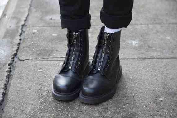 CLR Street Fashion: Doc Martens shoes