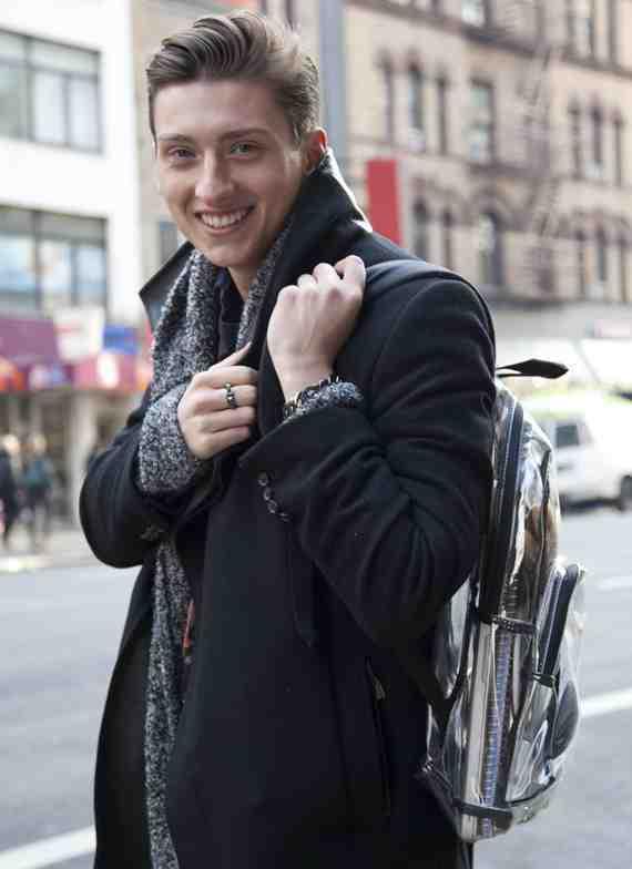CLR Street Fashion: Zara coat, East Sport bag