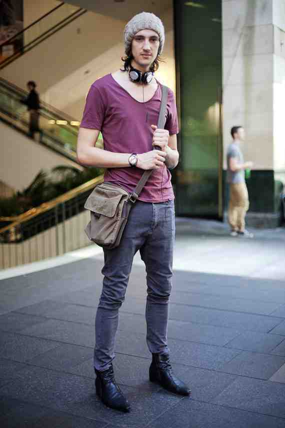CLR Street Fashion: Robert in Sydney