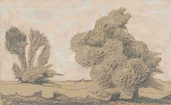 Max Ernst : Le start du châtaigner (The Start of the Chestnut Tree)