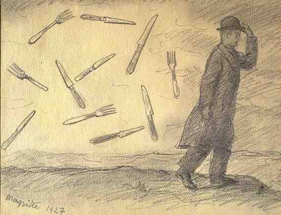 René Magritte: La Tempête