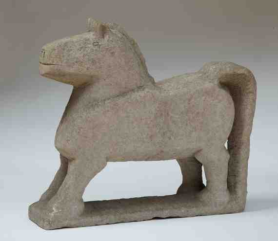 Horse with Long Tail: William Edmondson