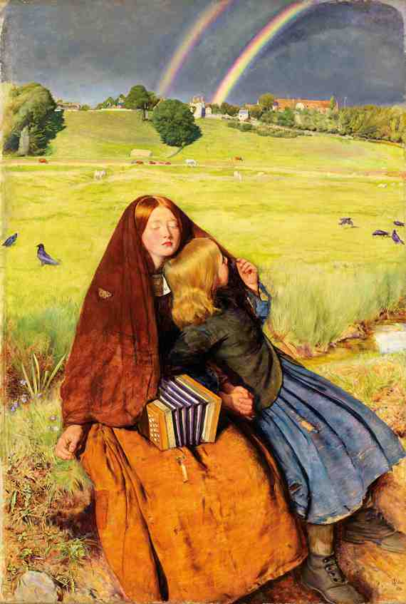 John Everett Millais: The Blind Girl