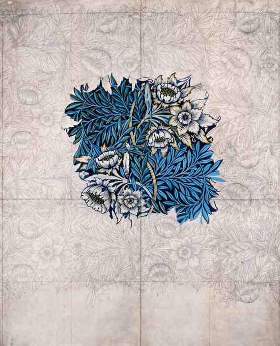William Morris: Design for Tulip and Willow