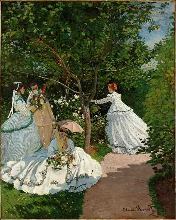 Claude Monet: Women in the Garden