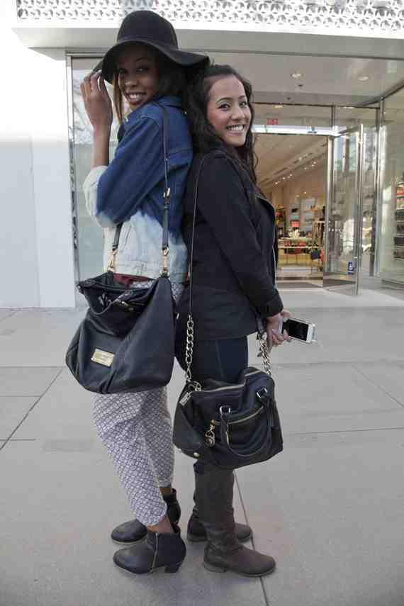 CLR Street Fashion: Juliea and Huong in Santa Monica