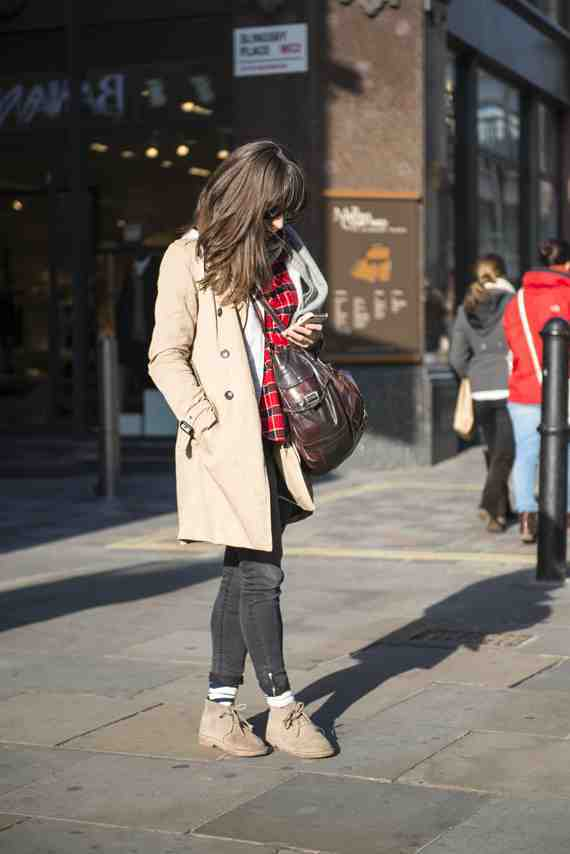 CLR Street Fashion: Claire in London