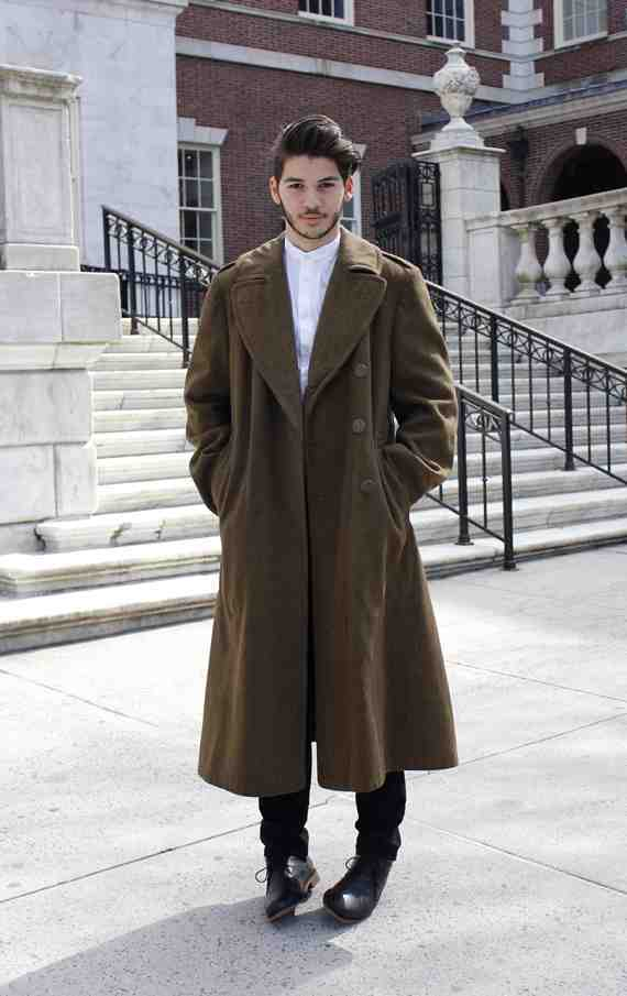 CLR Street Fashion: Chris in New York City