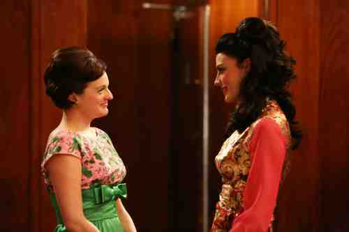 Mad Men Season 6 Megan and Peggy