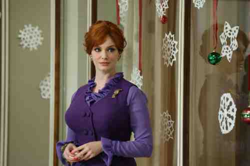Mad Men Season 6 Premiere Joan Holloway Harris
