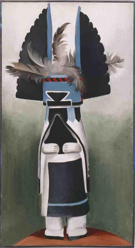 Georgia O'Keeffe: Kachina