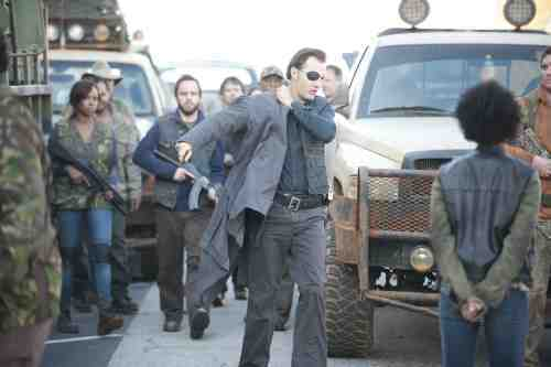 Walking Dead The Governor off to battle