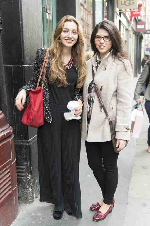 CLR Street Fashion: Vivian and Nagehan in London