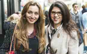 Permanent Link to CLR Street Fashion: Vivian and Nagehan in London