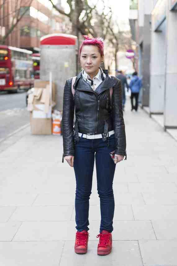 CLR Street Fashion: Melissa in London