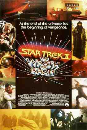 STAR TREK II: THE WRATH OF KHAN, top left: Merritt Butrick, 1982
