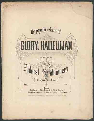 Glory, Hallelujah  Julia Ward Howe