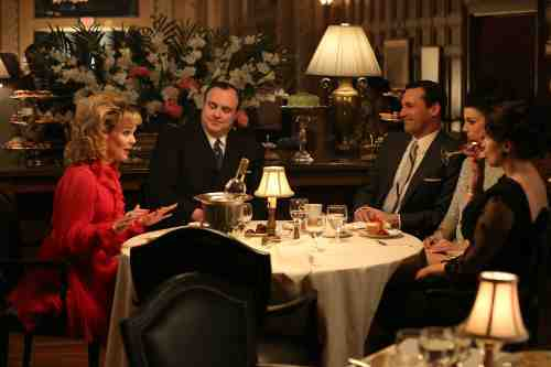 Mad Men Season 6 Dinner with Jaguar