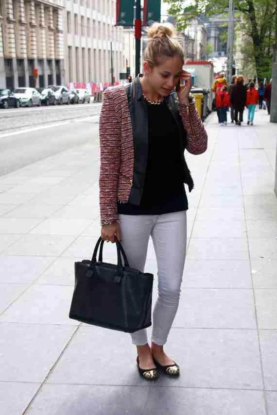 CLR Street Fashion: Marine in Brussels